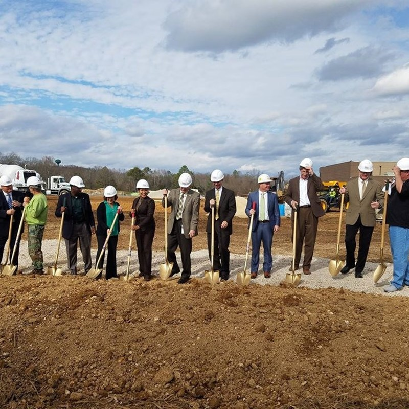 Pelham Rec Center Ground Breaking Ceremony