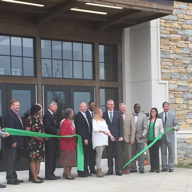 Pelham Ridge Elementary Ribbon Cutting