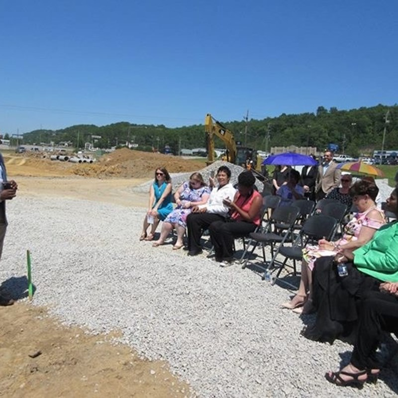 Ground breaking for Pelham Library