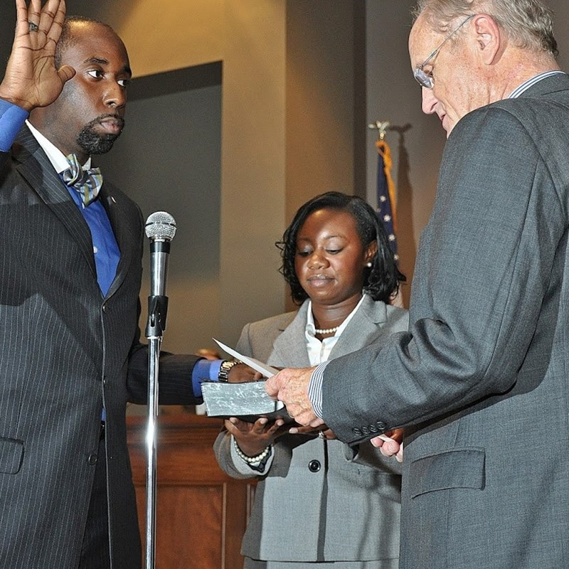 2012 Swearing In by the Late Atty Dick Bell