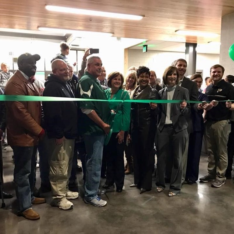 Pelham Rec center Ribbon Cutting