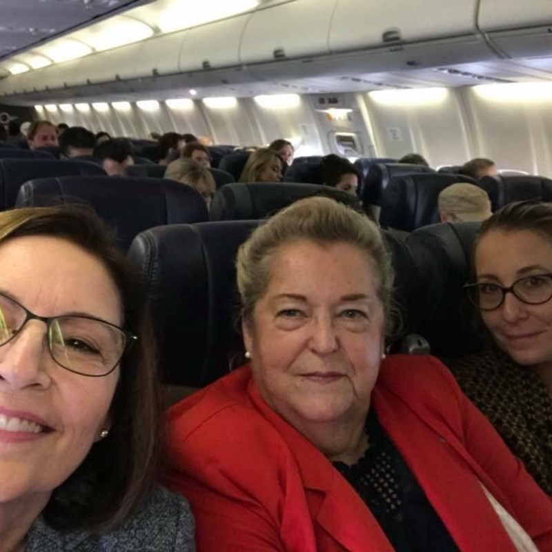 Advocacy Trip to Sacramento with Trustee Joan MacBregor and Faculty Association President