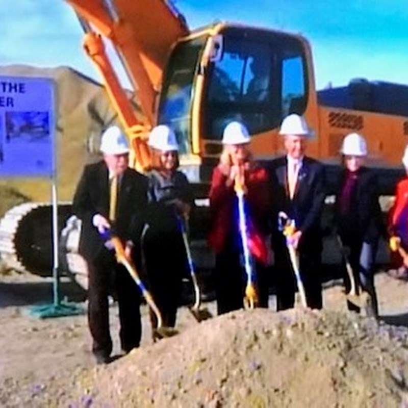 Groundbreaking for New Science Lab Building at Canyon Country Campus