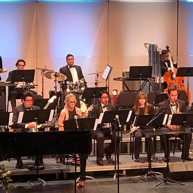 College Holiday Concert Performance