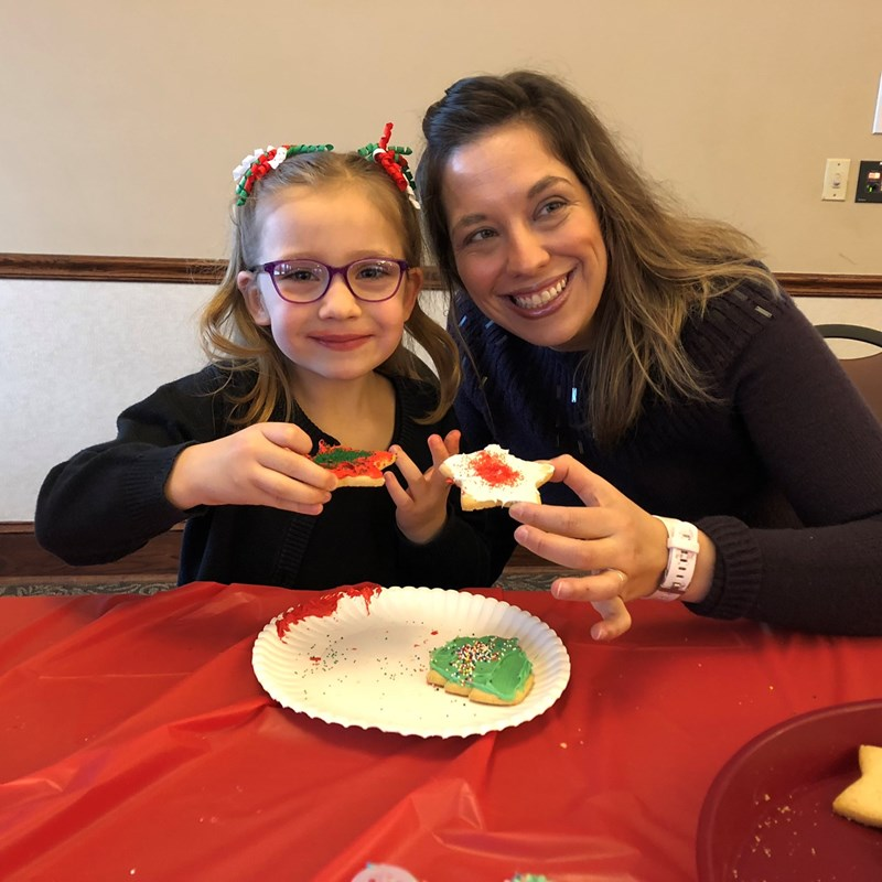 Parks and Recreation Cookies & Crafts with Santa Event