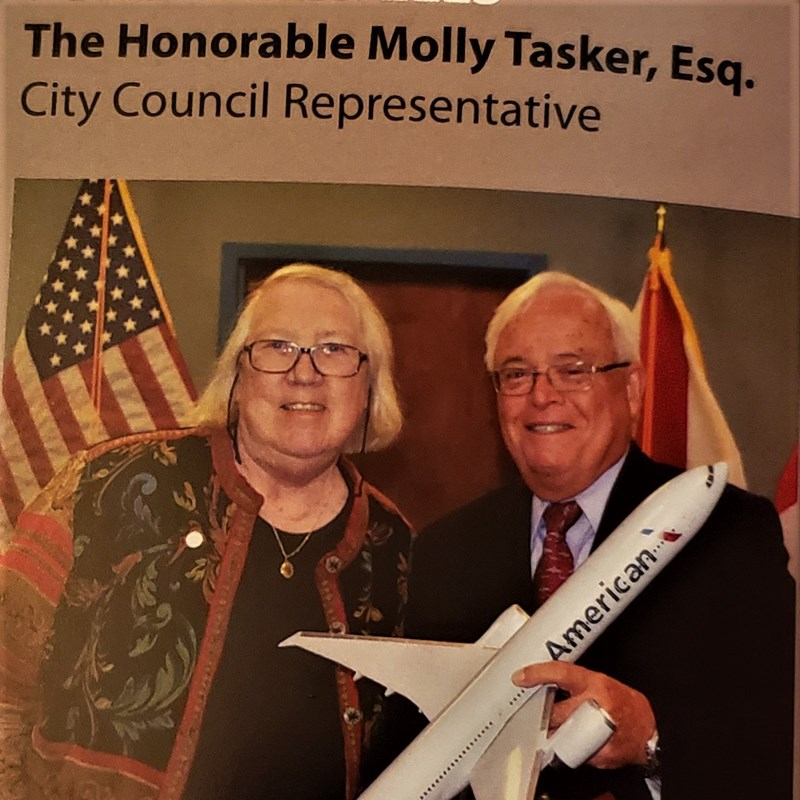 Fond farewells from the Melbourne Airport Authority Board by Chairman Jack Ryals to Molly 2016