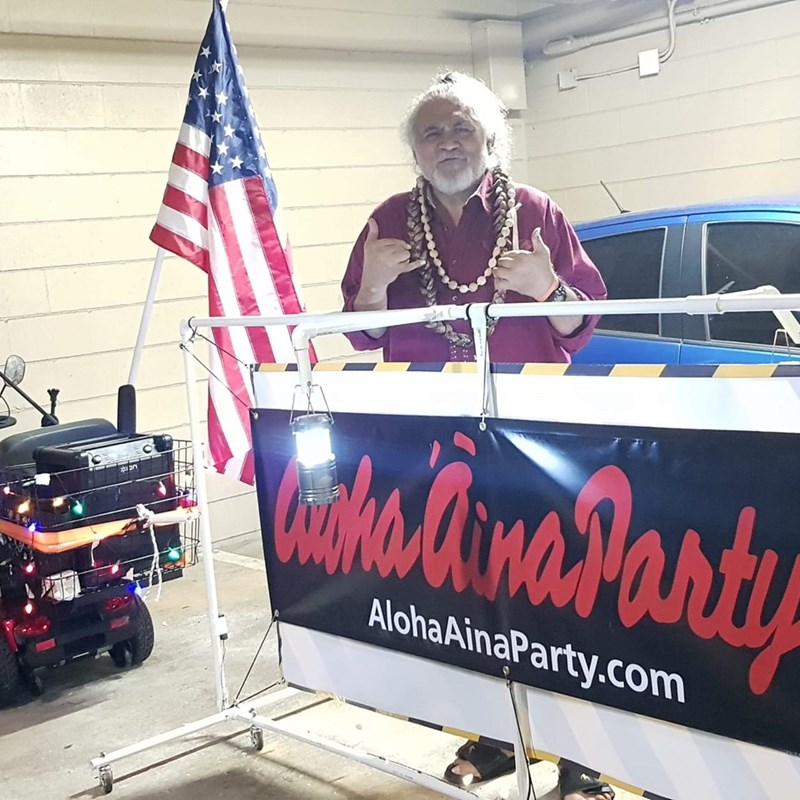 while I am not a member of the Aloha Aina Party, I do support many of their goals