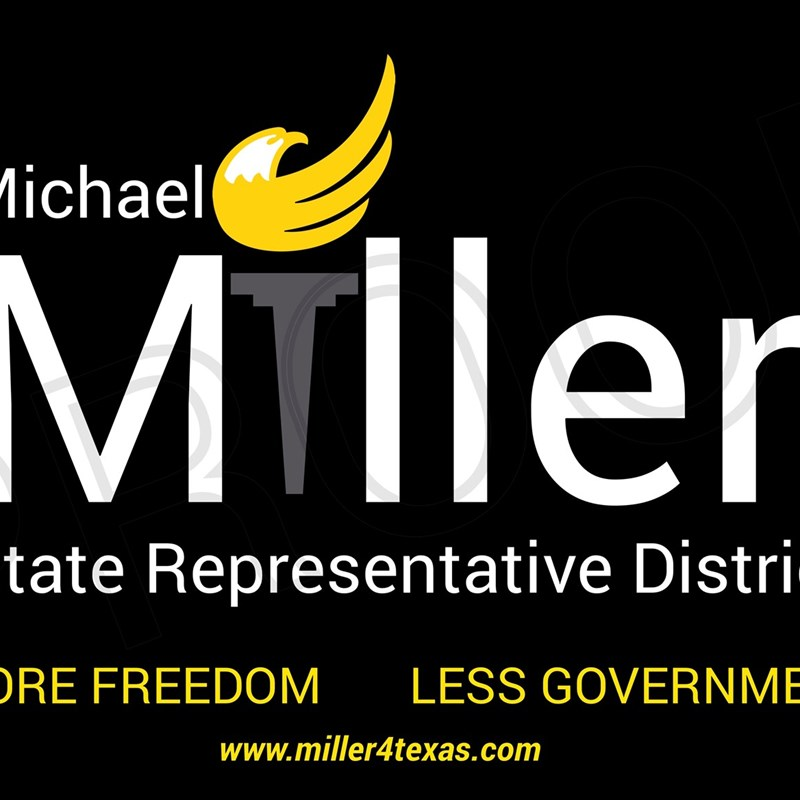 Elect 2020 Campaign Sign - District 85