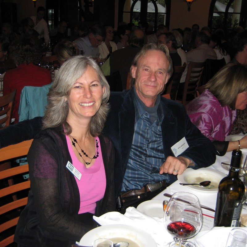 With SCCC Board Member Rick Williams Author Dinner Talk at French Garden