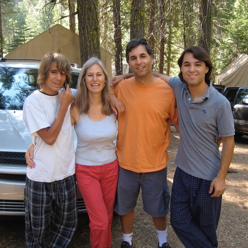 Diana and Family Lair of the Bear Family Camp
