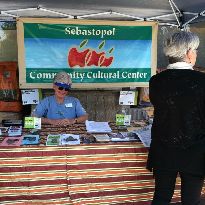 Community Center Booth Whole Foods Market