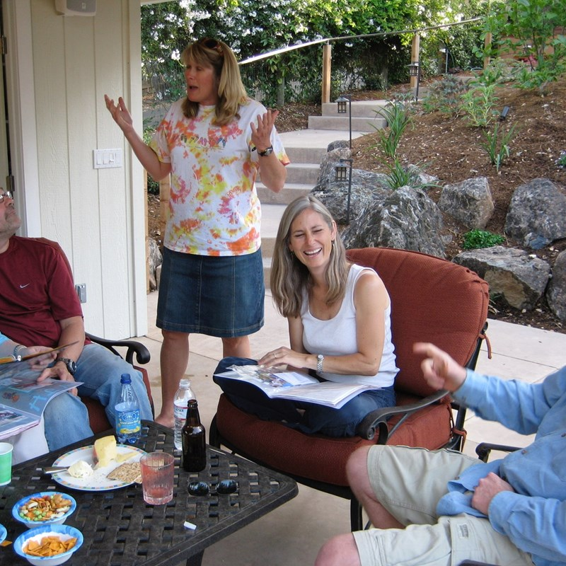 Conversation and Fun with Neighbors