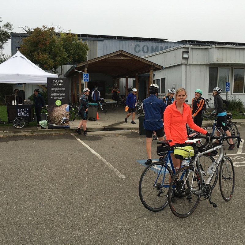 Tour d'Organics Bicycle Ride Sebastopol Community Center