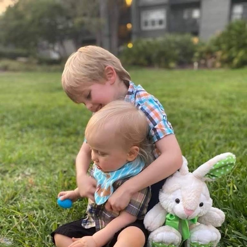 Two grandsons