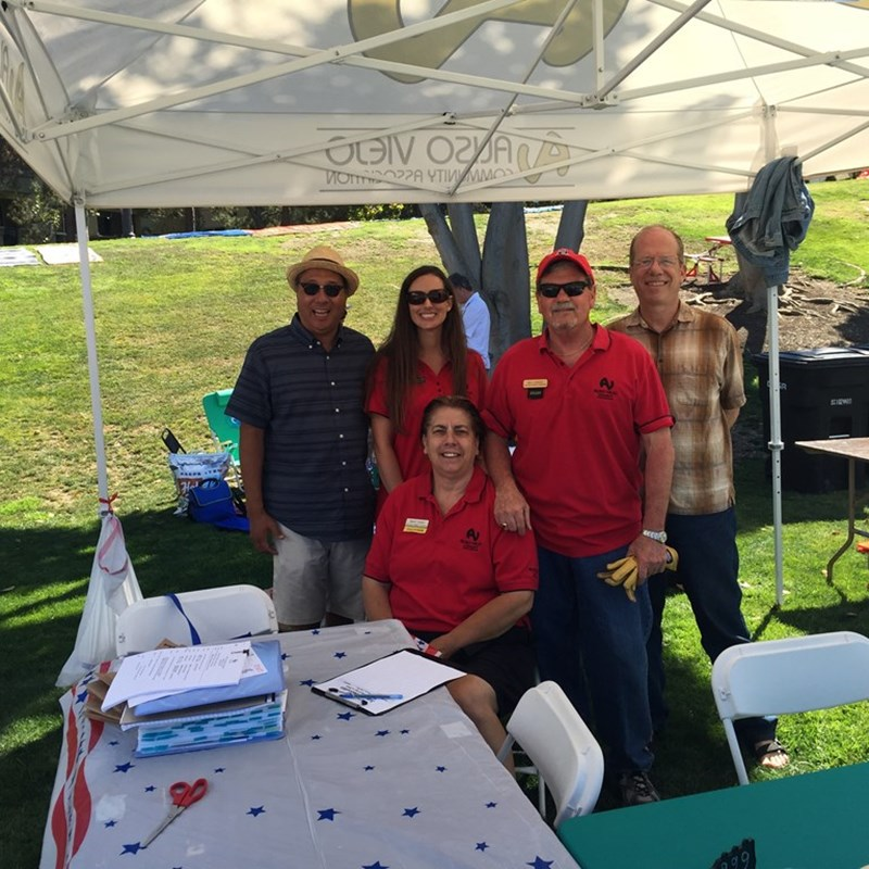 Each year, The Aliso Viejo Community Association's July 4th Event attracts thousands. Ross has been in involved for more than 12 years, and now, represents the City Council in Grand Park each year.